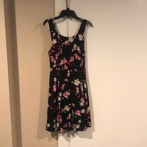 Floral fun dress